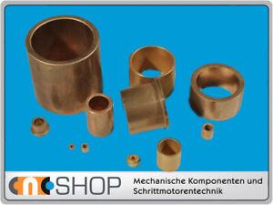 Gleitlager Sinterbronze DM 20 bis 50 frei wählbar CNC