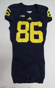 2013 Jehu Chesson Michigan Wolverines Game Used Worn Football Jersey! 6 Games!