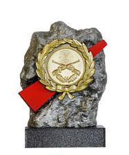 Schützen Pokal 20 x Medaillen 50mm Deutschland-Bändern Turnier Schießen Pistole Medaillen