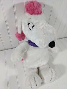 "BUILD-A-BEAR Fifi 18"" Plush - Peanuts Poodle - No Accessories - Stuffed Animal"