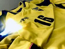 Ecuador Team Men Jersey - Official 2002 FIFA World Cup Jersey (Long Sleeve)