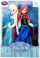Disney Frozen 12 Inch Doll 2-Pack Anna & Elsa Disney Store EXCL RARE 2013 NRFB
