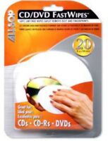 """Allsop """"Fastwipes"""" CD Cleaning Cloth/Pack of 20 [New Cleaner]"""