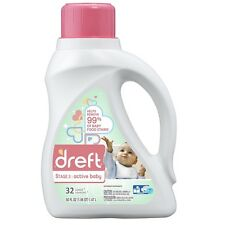 Dreft Liquid Laundry Detergent, Stage 2: Active Baby 50 oz