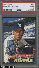 2001 Ultra #90 Mariano Rivera New York Yankees PSA 9 MINT