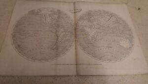 Geographiae Antiquae: The World: Rees' Cyclopaedia Map