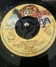 """Rod Stewart – Da 'Ya' Think I'm Sexy? 1978 7"""" Vinyl Plays VG+"""
