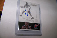 Rare 2013 Trevor Booker Panini Signatures Auto Autograph NBA Card 113 Forward