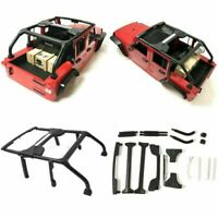 1:10 RC Crawler Car 313mm Modified Body Shell Roll Cage for Axial SCX10 90046