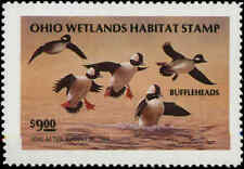 OHIO #12 1993  STATE DUCK STAMP BUFFLEHEADS by Kenneth Nanney
