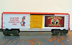 LIONEL O 27  JOE BIDEN CUSTOM MADE BOXCAR