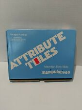 Vintage Macmillan Early Skills Attribute Toles Manipulatives Learning Homeschool