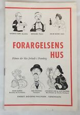 Clochemerle Félix Oudart Saturnin Fabre Jean Brochard 1948 Danish Movie Program