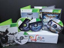 Xbox 360 Games Batman Arkham Asylum, Batman Arkham City, & Batman Arkham Origins