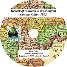 1902 History of MARIETTA and WASHINGTON County Ohio OH