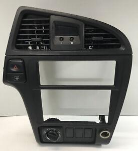 2001-2004 Nissan Pathfinder INFINITI QX4 Dash Radio Bezel Center Trim OEM Black