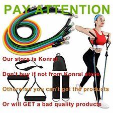 Bandes de Résistance Set Fitness Elastiques Musculation Exercice Bande Kit avec