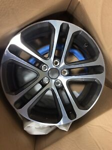 Jaguar Xe Alloy Wheel 18 Inch Diamond Turned Dual Finish T4n13696
