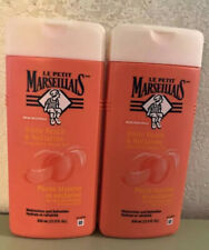 2 Pack Le Petit Marseiliais Shower Gel White Peach & Nectarine 21.9 oz each