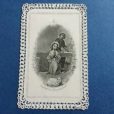 Canivet Félix Image Pious Holy Card 19thC Santino