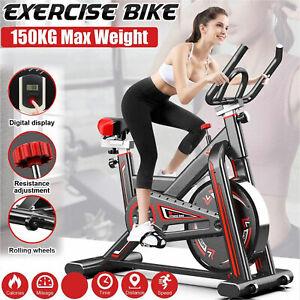 Heimtrainer Fitness Fahrrad Trimmrad Ergometer Fahrradtrainer 150 kg Belastbar