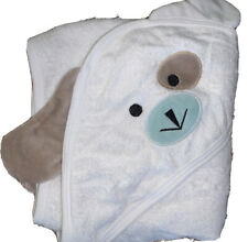 Baby Kiss And Cuddle 100% organic bamboo baby hooded towel 33x33�