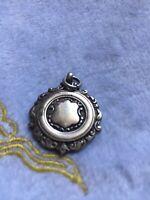 Hallmarked Silver Pocket Watch Chain Fob