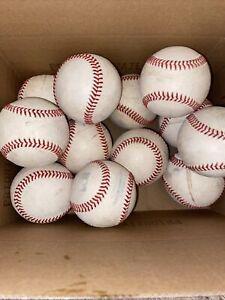 1 Dozen 12 MiLB/MLB Rawlings Official Minor Major League Baseballs USED INDOORS
