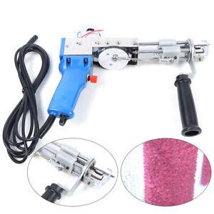 Electric Loop Pile Carpet Weaving Machine Hand Tufting Gun Rug 220V 9-21MM
