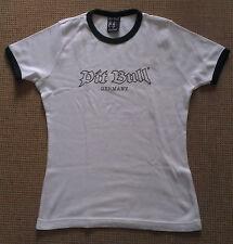Pit Bull Germany T-Shirt Shirt weiß Pit Bull-Logo Outline Gr. S Neu