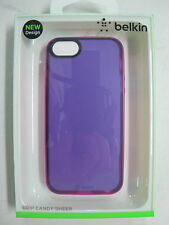 QUALITY BELKIN Grip Candy Sheer Case for iPhone 5 & iPhone 5s F8W138qeC06 [F00]