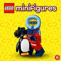 LEGO Minifigures #71013 - Serie 16 - Photographe Animalière / Wildlife - SEALED