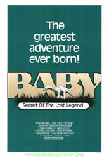 Baby Secret Of The Lost Legend Rolled Movie Poster 1985 Africa Brontosaurus