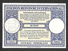 IRC INTERNATIONAL REPLY COUPON NETHERLAND 50 CENT 1960