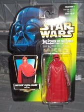 STAR WARS POTF GREEN PHOTO CARD IMPERIAL EMPEROR'S ROYAL GUARD FIGURE