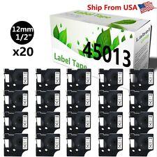 20 Pk 45013 Label Tape Use For Dymo Label Maker Pc Pc2 Pnp Wireless Pnp 150 160