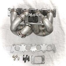 VW Mk4 1.8T 20V | Big-Turbo Exhaust Manifold | Transverse | 304SS 44mm V-Band WG