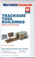 HO Scale Walthers Trainline 931-909 Trackside Tool Buildings Kit