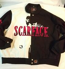 Vtg 90s SCARFACE JH Designs Design Cotton JACKET Mens Sz 4XL-Scarface #4