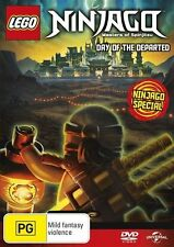 LEGO NINJAGO : DAY OF THE DEPARTED  -  DVD - UK Compatible
