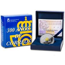 ESPAÑA: 10 euros plata 2016 proof 300 Aniversario de Correos - 8 reales