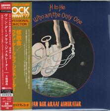 VAN DER GRAAF GENERATOR-H TO HE...-JAPAN MINI LP PLATINUM SHM-CD...Ltd/Ed H53