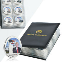 WR 44X Total US Presidents Silver Coin Medal Set Collection +Coins Leather Album