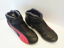 PUMA EUC Ducati motorcycle boots shoes US 11  EU 44