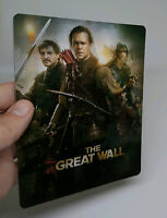 The Great Wall Lenticular Magnet cover Flip effect for Steelbook