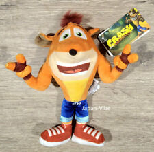 """Crash Bandicoot 8"""" plush doll Play By Play Activision European Exclusive New"""