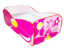 Children Bed FAIRY, Toddler Junior Bed For Girls Kids with mattress 140x70cm