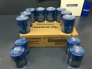 OEM Subaru Engine Oil Filter 15208AA15A Genuine Impreza Legacy 12 PACK CASE OEM