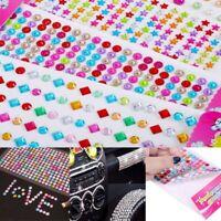 Decoration DIY Cute sticker Crystal Stickers Acrylic Rhinestone Diamond