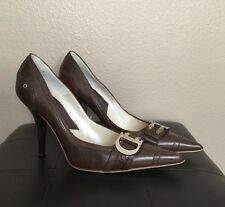 Christian Dior Brown Shoes Sz 37 1/2